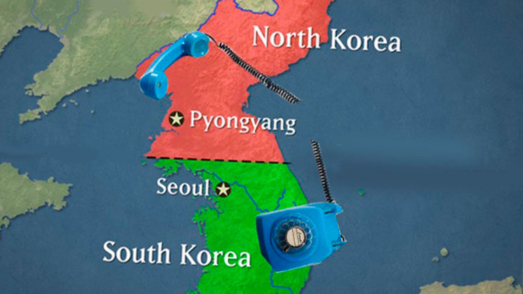 Corea-Norte-corta-linea