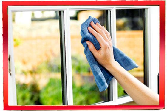 Limpando-vidrio