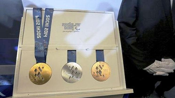 Rusia-presentó-las-medallas-para-Sochi-2014