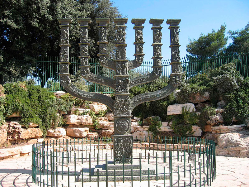 menorah-jerusalen