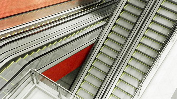 escadas-rolantes